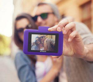 Polaroid snap touch selfie