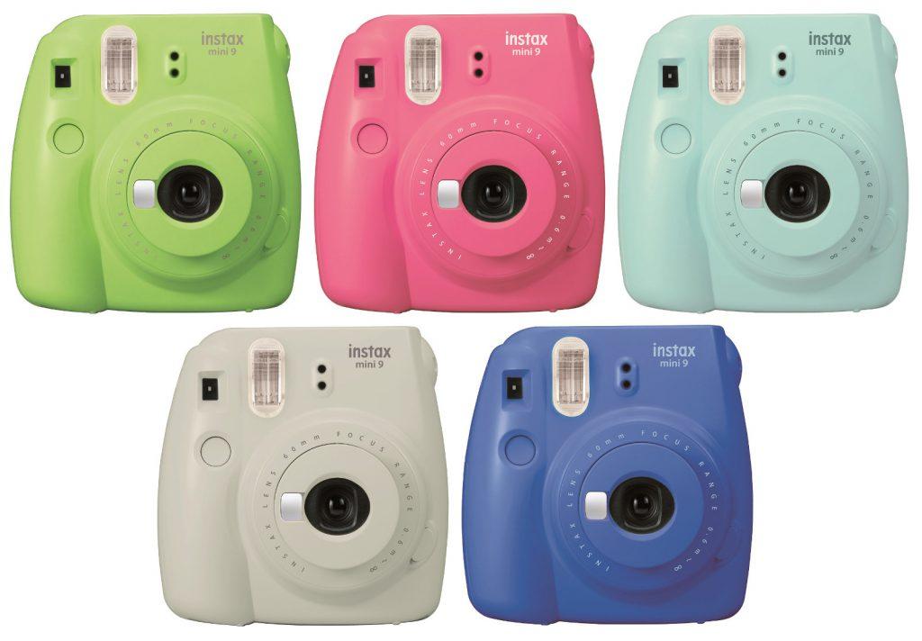 Coloris appareil Photo instantané Fujifilm Instax Mini 9