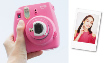 Instax Mini 9 mirroir a selfie