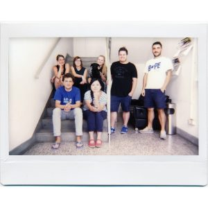 Lomo Instant Wide photo de groupe