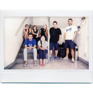Lomo Instant Wide photo de groupe